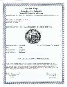 OVC City of Chicago GC License Exp 5 6 15
